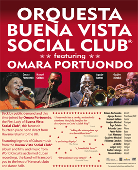Orquesta Buena Vista Social Club® feat. Omara Portuondo concert review