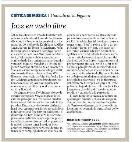 Best Jazz in Zaragoza