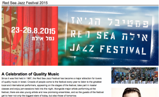 Red Sea Jazz Festival presenta...